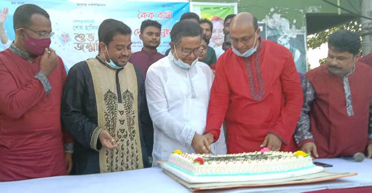 শ্যামনগর আ'লীগের উদ্যোগে শেখ হাসিনার জন্মদিন পালিত