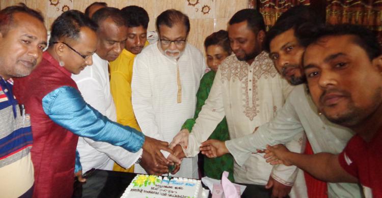 জেলা আওয়ামীলীগের সাধারণ সম্পাদক মো. নজরুল ইসলামের ৬৮তম জন্মদিন পালন